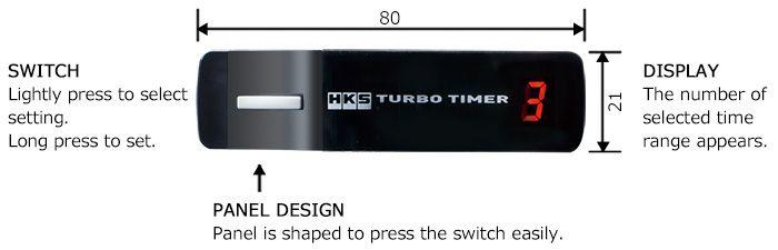 Hks Turbo Timer Type X  U0026 Harness Loom Subaru Impreza New